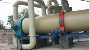 2t drum dryer line