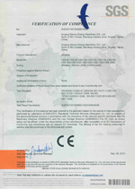 CE certificate of pellet mill