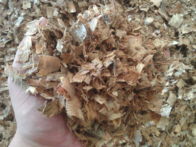 raw materials of wood pellets