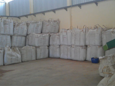 wood pellets storage
