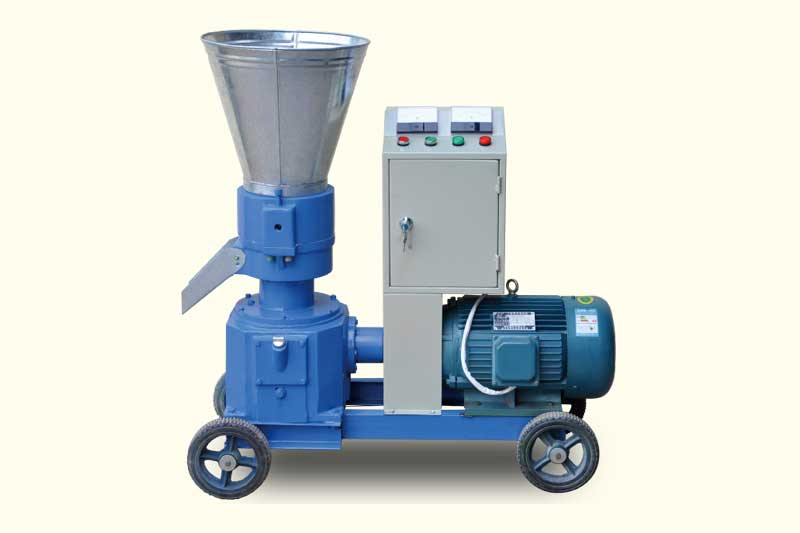 motor driven small pellet machine